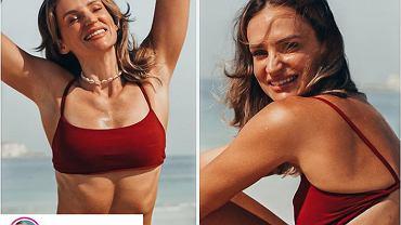 Dziennikarka zestawiła swoje dwa zdjęcia w bikini. Trudno uwierzyć, że to ciało tej samej osoby