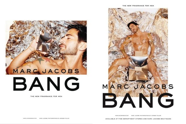 Marc Jacobs Bang, reklama zapachu