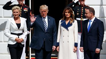 Wizyta Andrzeja Dudy z Donaldem Trumpem