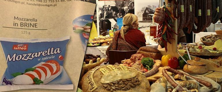 Mozzarella w polskim katalogu na targach w USA. Ministerstwo tłumaczy