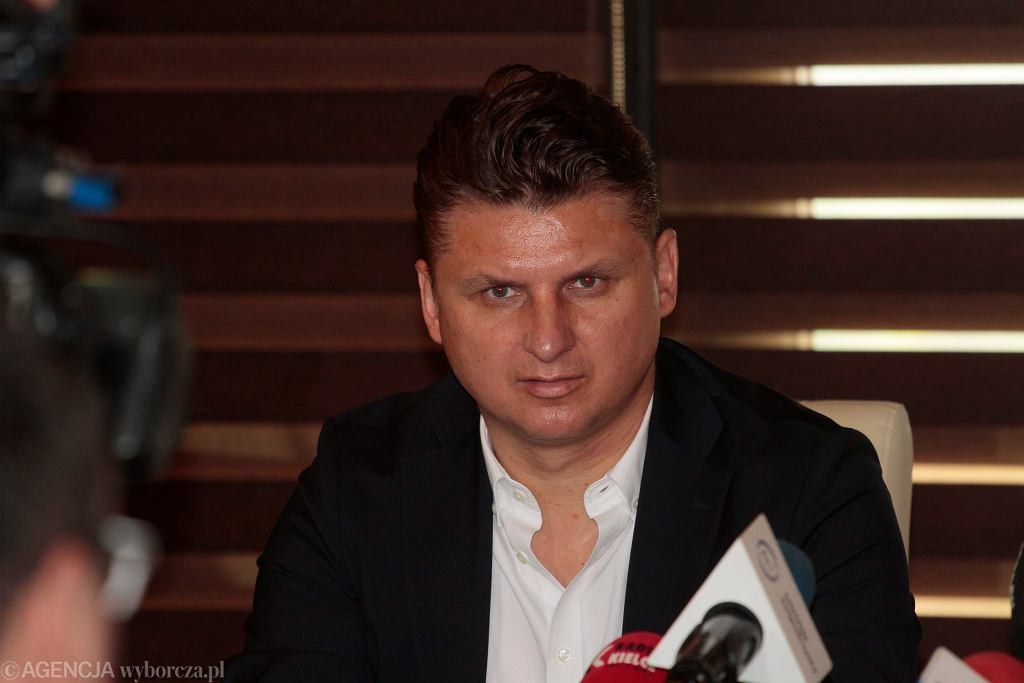 Wybory samorządowe 2018 w Białymstoku. Jednym z kandydatów na radnego Sejmiku Województwa Podlaskiego jest Marek Citko, były piłkarz reprezentacji Polski