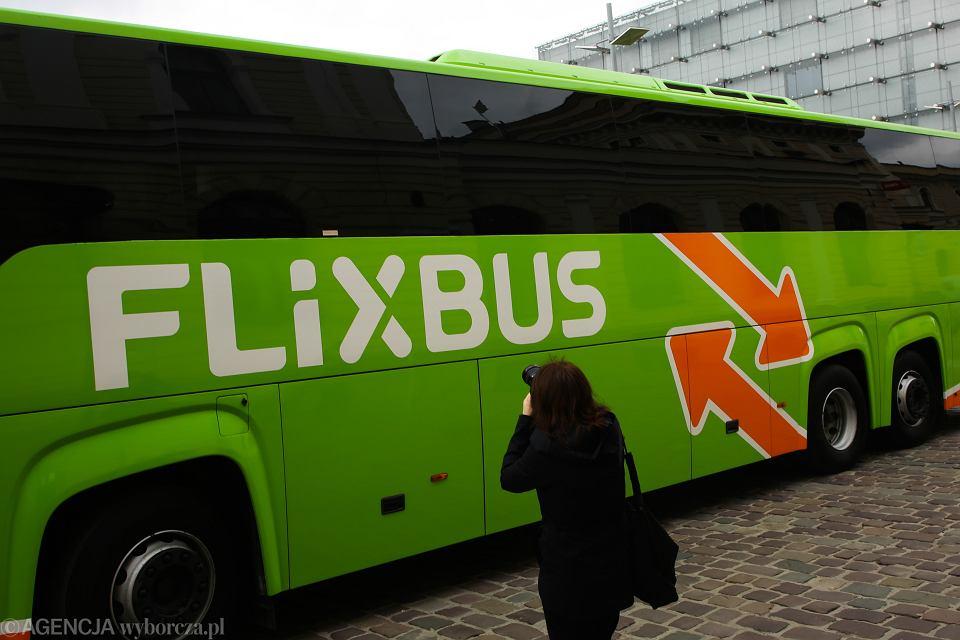 Flix bus. Kraków, 27 czerwca 2018