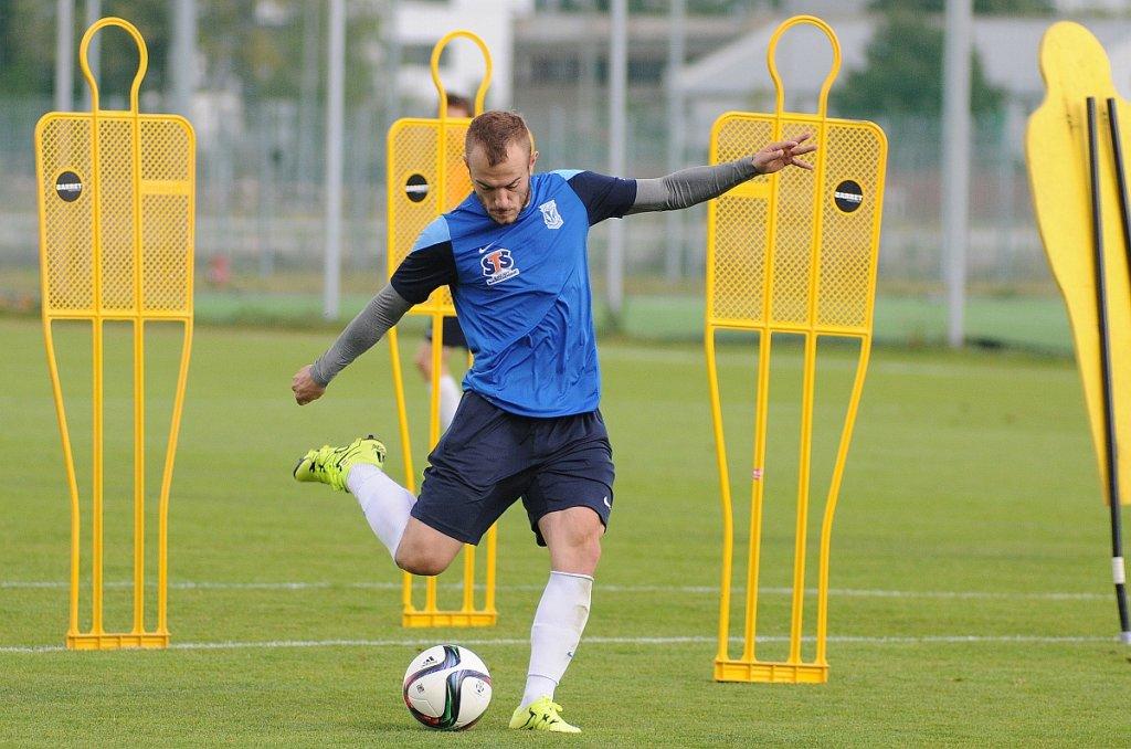 Lech Poznań trenuje przed meczem z Podbeskidziem Bielsko-Biała. Gergo Lovrencsics