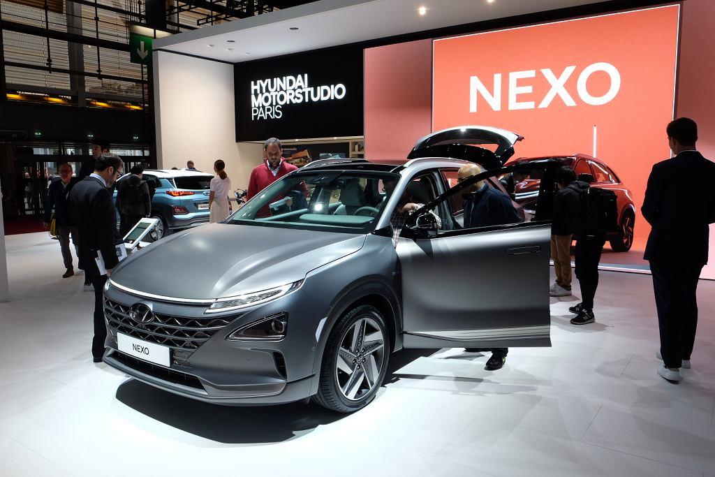 Hyundai NEXO na Salonie w Paryżu 2018