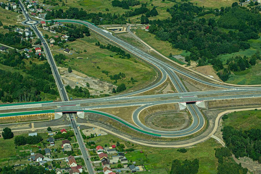 Autostrada A1 na odcinku Pyrzowice - Częstochowa Południe