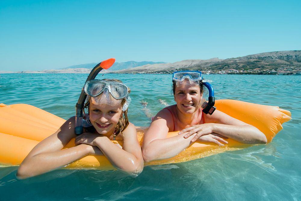 Chorwacja z dziećmi - nurkowanie w Adriatyku