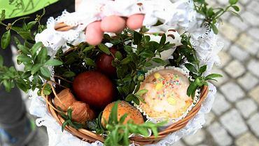 Nasze płockie koszyczki ze święconką - Wielkanoc 2016