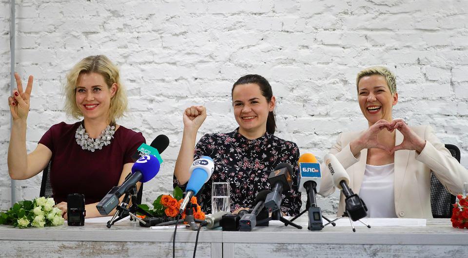'Chcemy opowiadać naszym dzieciom, że zwyciężyliśmy ten dyktatorski reżim'. Sztaby trzech opozycyjnych kandydatów na prezydenta łączą siły.