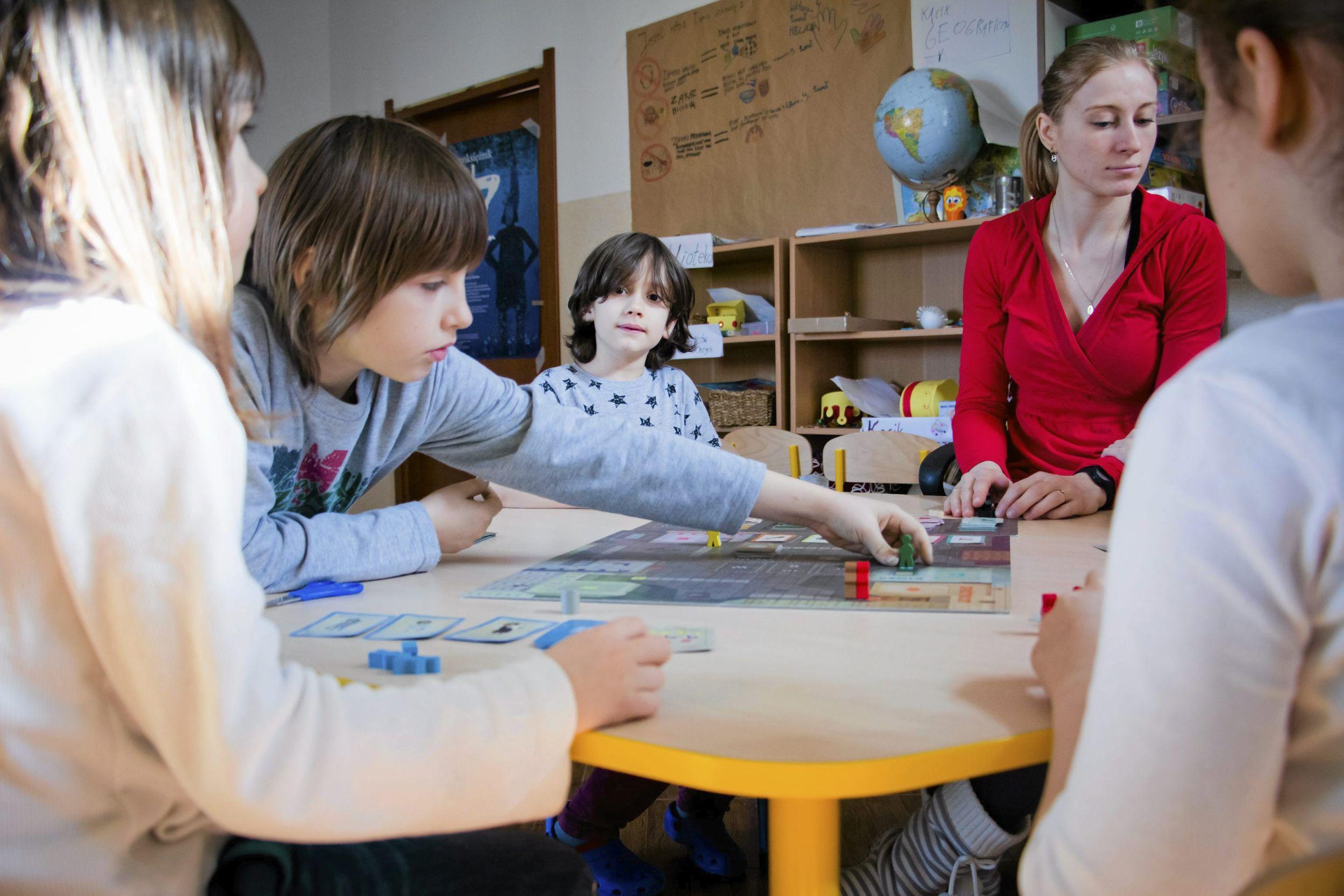 Słoneczna Szkoła w Białymstoku (fot. Marcin Onufryjuk / Agencja Gazeta)