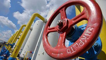 Przepompownia gazu Bojarka na Ukrainie