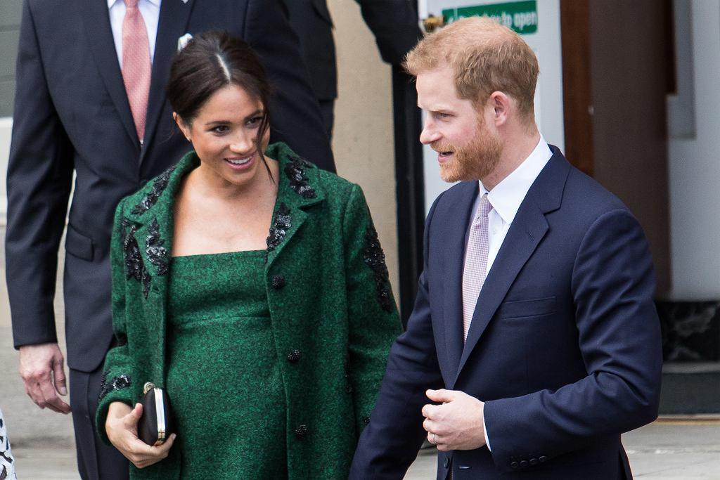 Meghan Markle i książę Harry wybrali chrzestną?