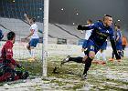 Zwycięstwo Stomilu Olsztyn w spotkaniu na śniegu
