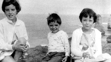 Jane, Grant i Arnna Beaumont na zdjęciu z 1965 roku podczas wakacji.