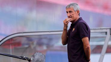 Były trener Barcelony Quique Setien