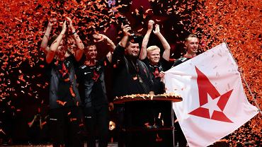 Astralis cieszy się z triumfu na StarLadder Berlin Major 2019