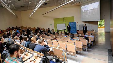 Wrocław does business - spotkanie przedstawicieli firm ze studentami