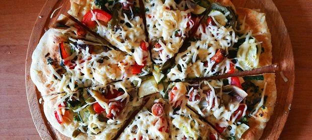 Pizza upieczona piecu Teesa SUPREME