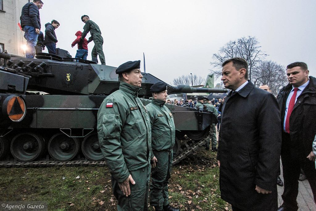 Piknik wojskowy na terenie Muzeum Polska Wojskiego - 10 listopada 2018 r.