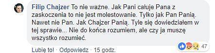 Komentarz Filipa Chajzera