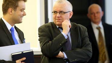 Adam Lipiński podczas posiedzenia rządu