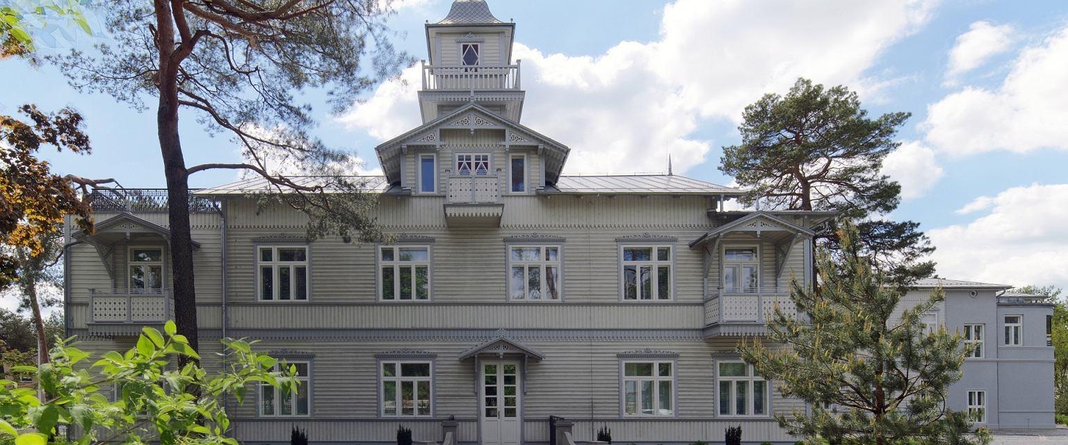 Mirai Clinic w Otwocku została utworzona w starym budynku w stylu świdermajerów (materiały prasowe)