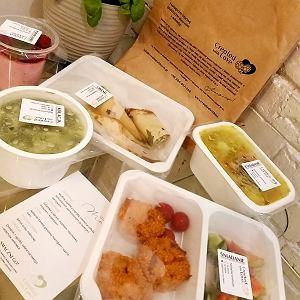 Test - dieta pudełkowa premium od Created with love