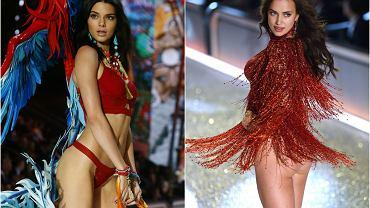 Pokaz Victoria's Secret 2016 - Kendall Jenner starała się zwrócić uwagę fotoreporterów, ale to dminiemana ciąża Iriny Shayk jest po pokazie tematem nr 1