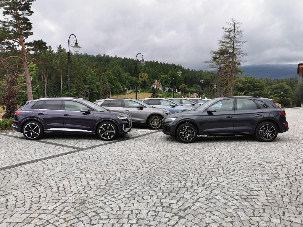 Audi Q4 e-tron i Audi Q5