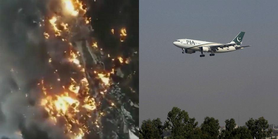 Pakistański samolot rozbił się tuż po starcie z Islamabadu