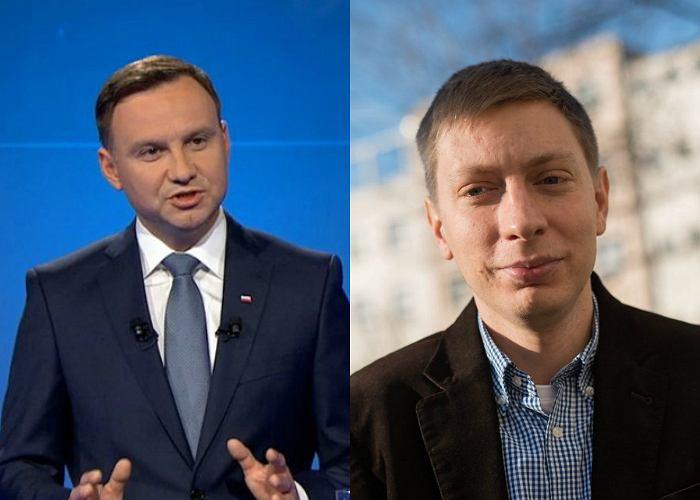 Andrzej Duda i Michał Bilewicz