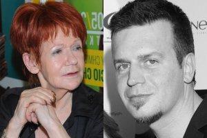 Maria Czubaszek i Marcin Wrona