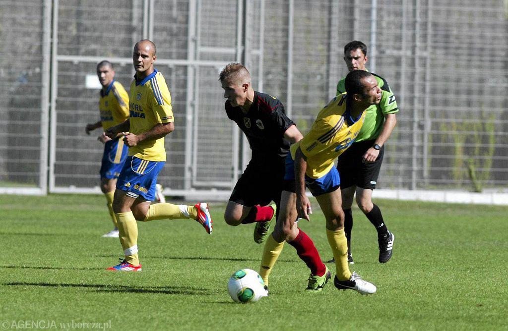 Arka Gdynia - Gryf Wejherowo 1:1 w meczu sparingowym sprzed roku