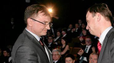 Zbigniew Ziobro i Andrzej Duda w 2010 roku