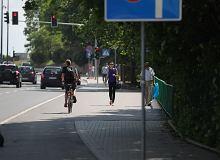 Przeganiasz rowerzystów klaksonem z ulicy? Cykliści blokują ruch, bo często sami nie mają wyboru