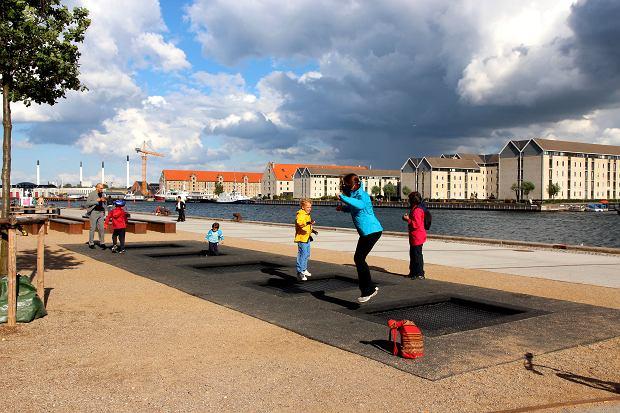 Trampoliny w Danii