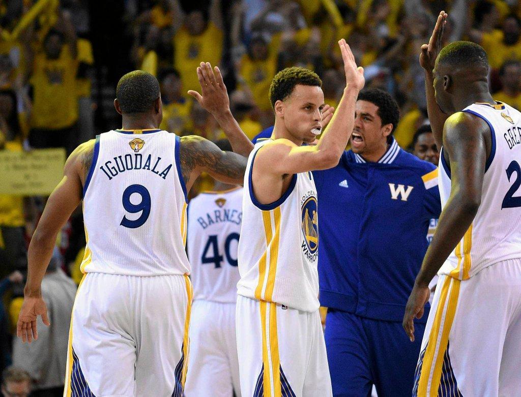 Golden State Warriors - Cleveland Cavaliers 108:100. Radość gospodarzy