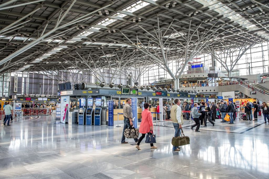 Lotnisko w Stuttgarcie