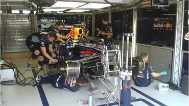 Sport.pl w garażu Sebastiana Vettela