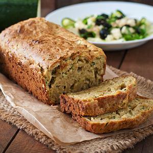 Chleb z cukinii - przepis
