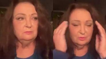 """Anna Dymna wystąpiła w TVN24. Wyznała, że jej mąż ma koronawirusa. """"Od dwóch dni lekarze walczą o jego życie"""""""