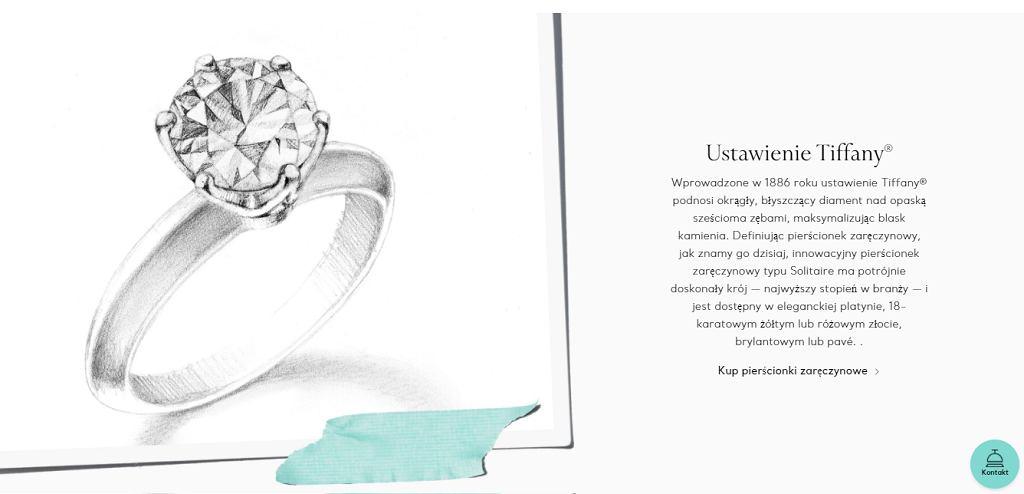 Projekt pierścionka zaręczynowego Wersow