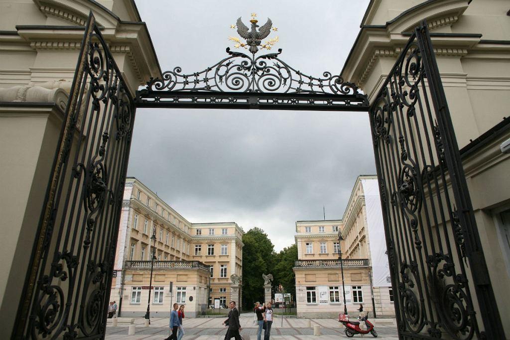 ul. Krakowskie Przedmieście - Uniwersytet Warszawski - brama główna