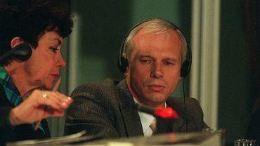 Janusz Waluś podczas przesłuchania w sądzie, w Pretorii.