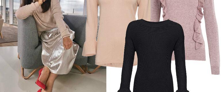 Swetry w stylu Kingi Rusin: mamy podobne, ale dużo tańsze modele z wyprzedaży!