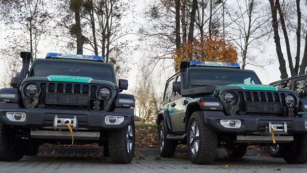 Jeep Wrangler Sahara, nowe samochody straży granicznej