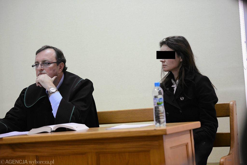31-letnia Izabella C. w sądzie rejonowym Warszawa Śródmieście w grudniu 2013 r.