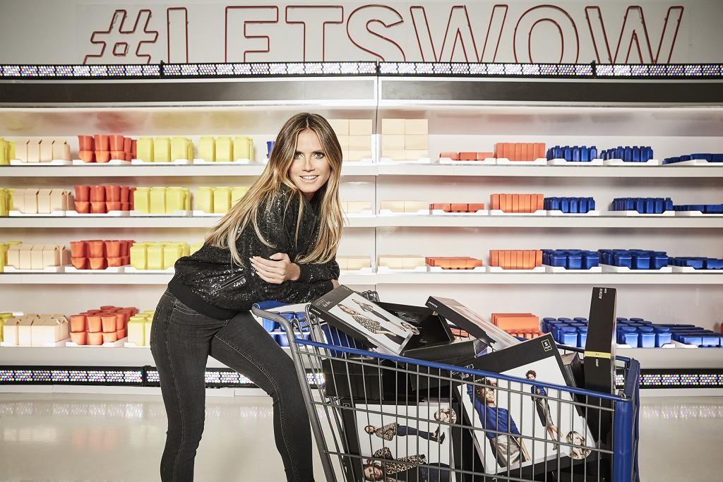 Heidi Klum dla Esmara - sesja wizerunkowa kolekcji modelki dla Lidla