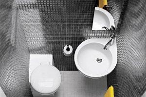 Łazienka: urządzenia narożne