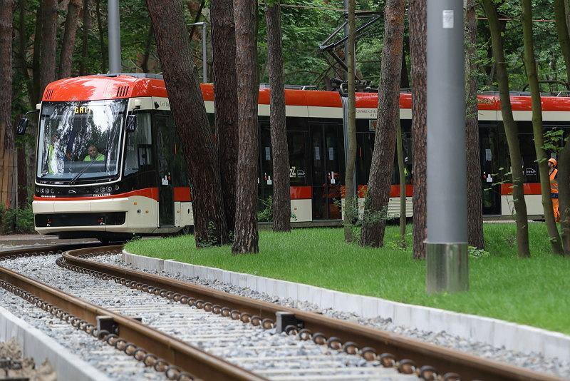 Aldesa zmodernizowała linię tramwajową na gdańskich Stogach