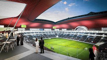 Wizualizacja stadionu Al Bayt - MŚ 2022